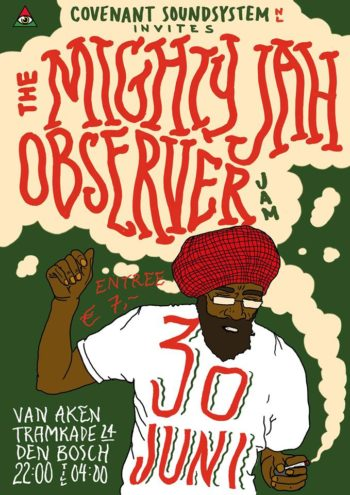 Covenant Soundsystem invites the Mighty Jah Observer