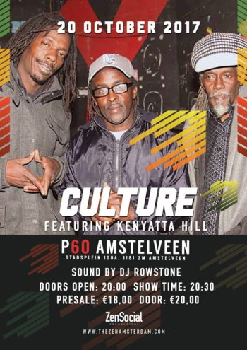 Culture – 40 Years Two Sevens Clash-Tour