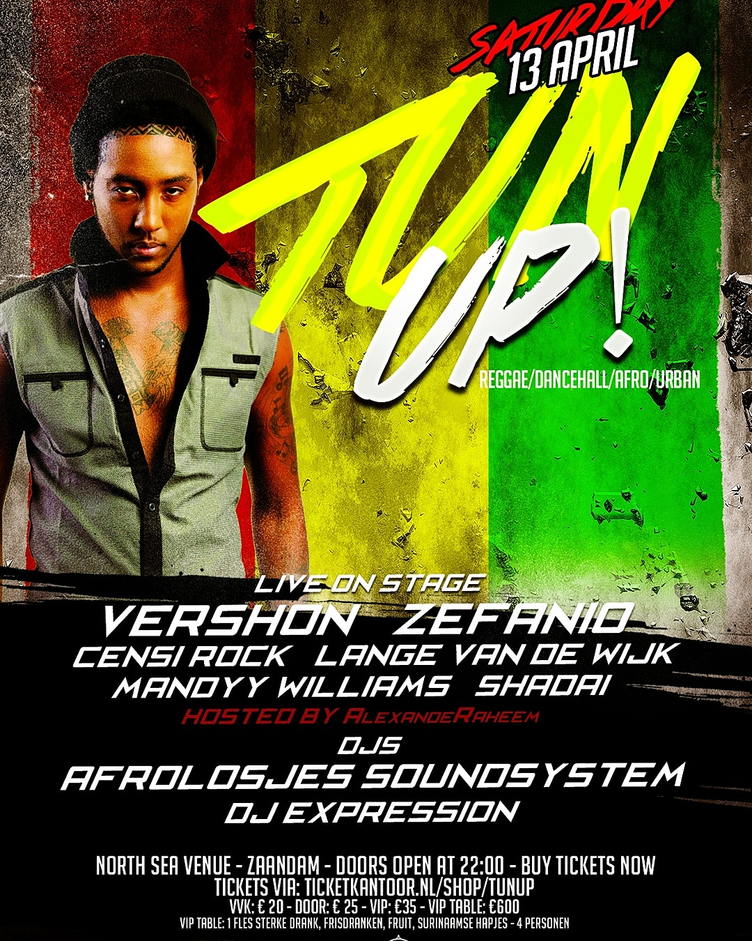 TUN UP! | North Sea Venue | IRIELION COM